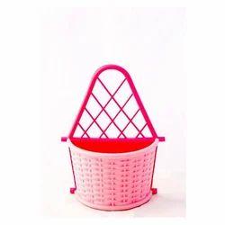 Multiple Durable Plastic Multipurpose Stand - Cutlery Stand, Cosmetics Holder, Newspaper Holder, Hanging Flower Vase