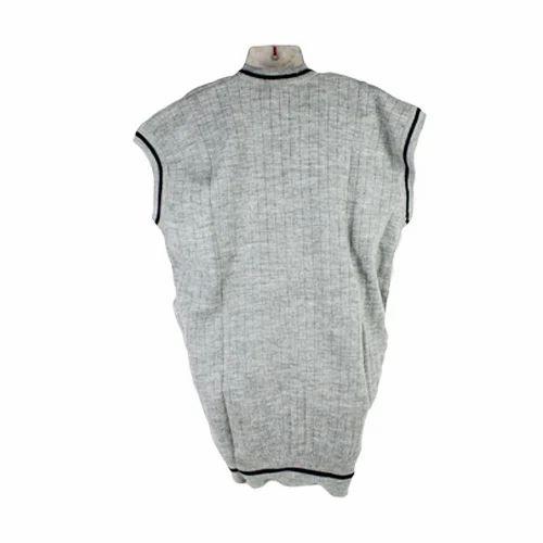 b5440f001006c8 V-Neck Sleeveless School Woolen Plain Sweater, Rs 100 /piece   ID ...