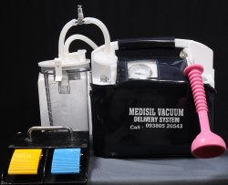 Vacuum Extractor With Bluetooth Foot Wwitch