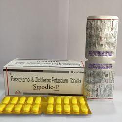 Paracetamol Diclofenac Potassium Tablet