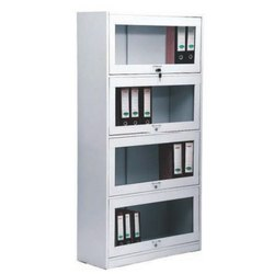 Fonzel C/FCL41-3 Book Case with Glass Door