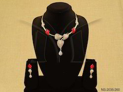 AD Necklace Set Jewellery