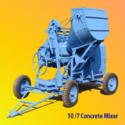 5 Heavy Duty Bucket Feed Concrete Mixer