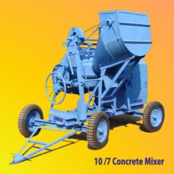 Bucket Feed Concrete Mixer