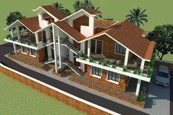 Villas & Bungalow Architecture Design in India