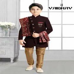 Multicolor Festive Wear Sherwani, Size: 0-14