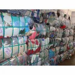 Color Cotton Waste Cloth Cut Pieces
