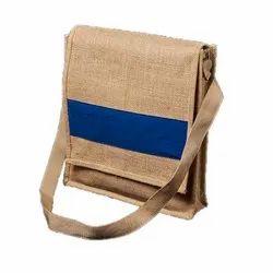 Unisex Brown Conference Jute Bag - CCA
