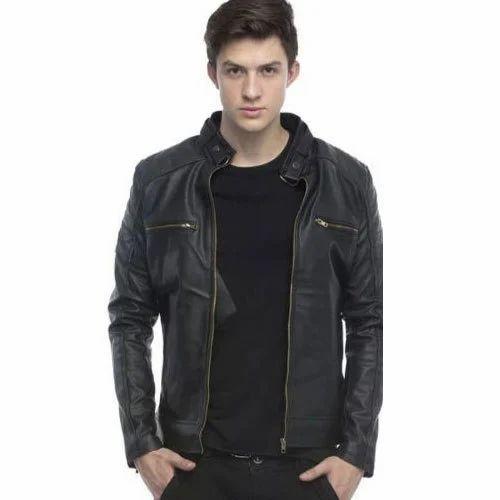 f27e86c56 Men's Stylish Leather Jacket