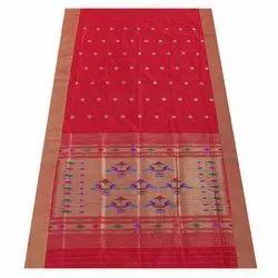 Festive Wear Red Pure Silk Paithani Saree