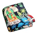 Frida Kahlo Printed Cotton Quilt Handmade Bed Cover Cotton Kantha Blanket