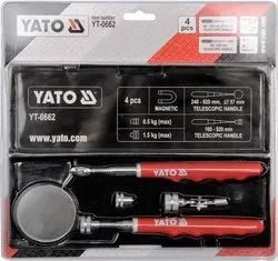 YATO professional telescopic inspection mirror and pick up tool set YT-0662