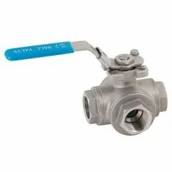3 Piece Reduced Port Ball Valve