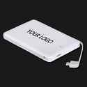 White Colour Power Bank