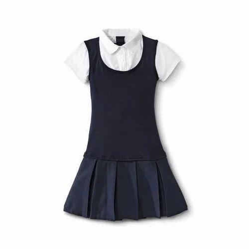 9933918f614f Little Girls School Uniform, Size: Medium, Rs 400 /set | ID: 14594268730