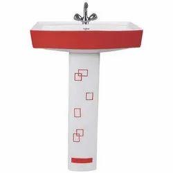 806 Pedestal Vitrosa Wash Basin