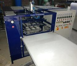 Thermocol Dona Plate Thali Making Machine