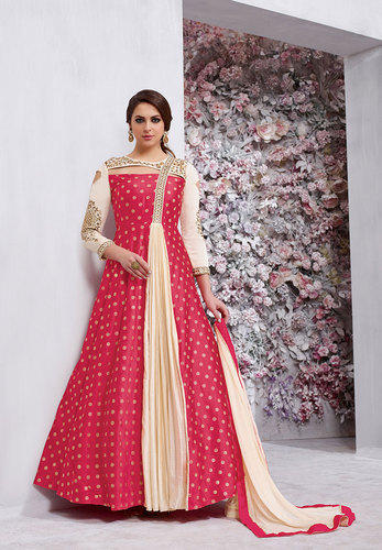 a7b6d05ba3 Multicolor Saree Exotica Girls Gowns, Size: Large, 20, Rs 1295 ...