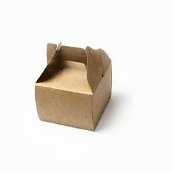 13K Small Kraft Cake Box with Handle