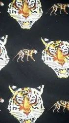 African Animal Print George Fabric