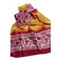 Batik Hand-block Print Chanderi Suit