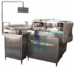 Gripper Rotary Vial Washing Machine