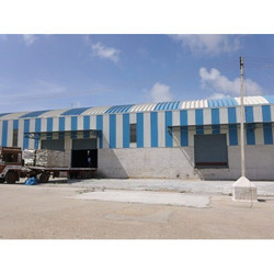 Prefabricated Raw Material Godown