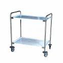 Medical SS Equipment Trolley