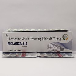 Olanzapine Mouth Dissolving Tablets 2.5mg