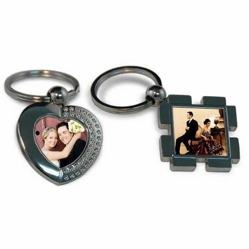 Photo Printed Personalized Keychain