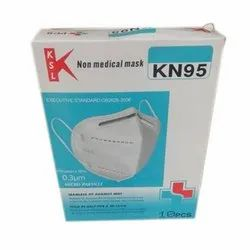Reusable KN95 Non Medical Face Mask, Number of Layers: 5 Layer
