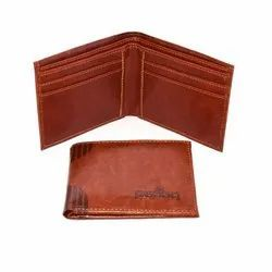 Mens Leather Brown Wallet