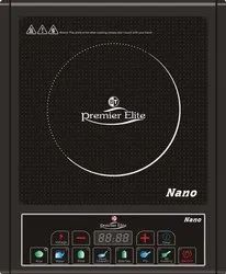 Black 2000w Induction Cooker, Size: Basic