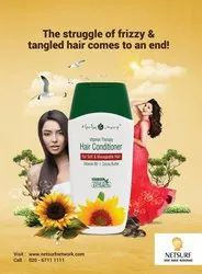 Netsurf Natural Vitamin Therapy Hair Conditioner, For Personal, Type Of Packaging: Bottle