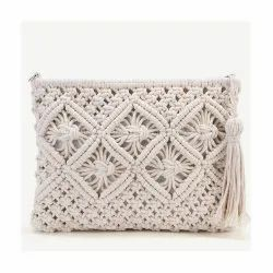Latest Mini Classical Macrame Clutch Bags