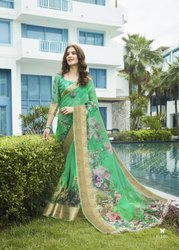 Organza Jacord Silk Saree