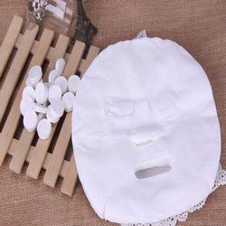 Compressed Facial Silk High Quality Tencel Face Mask