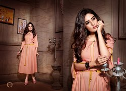 Two Tony Heavy Rayon Miss World Kurti