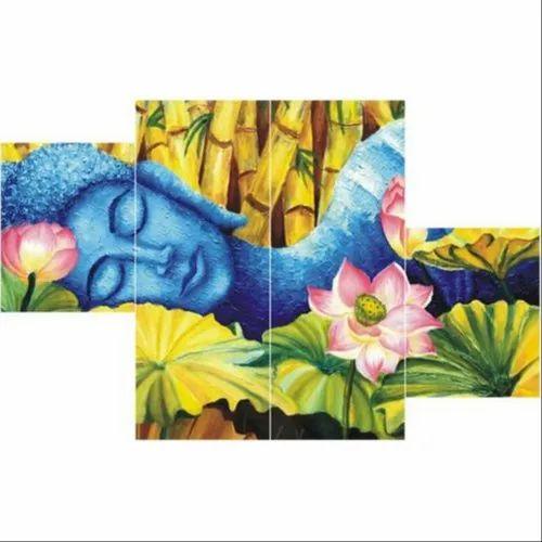 Buddha Handmade Wall Painting