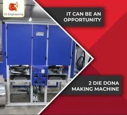 Fully Auto Dona And Thali Making Machine