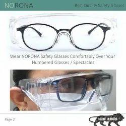Nylon Transparent SAFETY Goggles