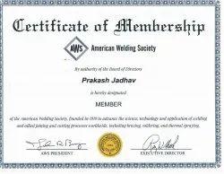 Wps ,Pqr ,Welder Qualification,Certification Consultancy