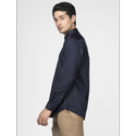 Green Hill Men's Designer Navy Blue Triangle Shirt