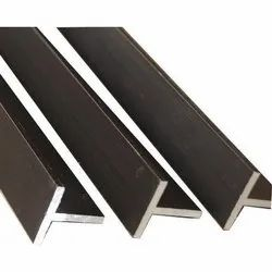 T Shape Mild Steel Angle, For Construction