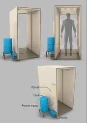 CRB  Sanatization  Chamber