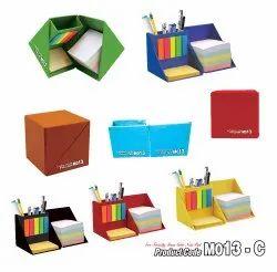 Music-555 M013-C Multi Color Memo Cube Note Pad
