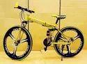 Ferrari Golden Foldable Cycle