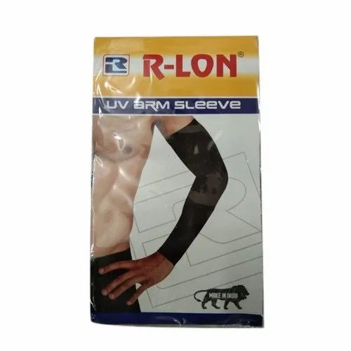 Black Cotton R-Lon UV Arm Sleeve