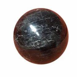 Black Tourmaline Globe - Ball for Rekhi / Spiritual Healing & Home Decor