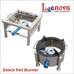 Ss Leenova Stock Pot Burner